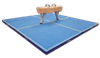 Landing mats for gymnastic equipments